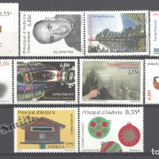 Sellos: AÑO COMPLETO DE SELLOS DE ANDORRA ESPAÑOLA - AÑO 2011 - SIN USAR / NUEVO. Lote 154622296