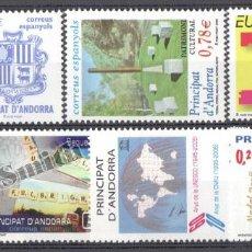 Sellos: AÑO COMPLETO DE SELLOS DE ANDORRA ESPAÑOLA - AÑO 2006 - SIN USAR / NUEVO. Lote 142634464