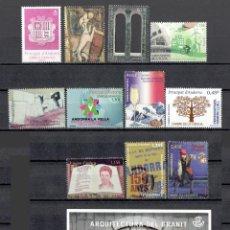 Sellos: AÑO COMPLETO DE SELLOS DE ANDORRA ESPAÑOLA - AÑO 2016 - SIN USAR / NUEVO. Lote 84687836