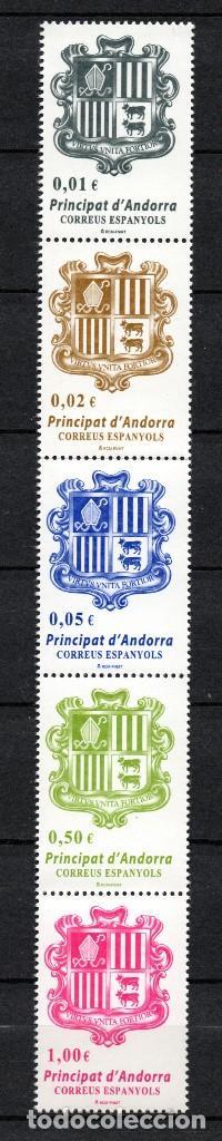 ANDORRA 413/17** - AÑO 2014 - ESCUDO DE ANDORRA (Sellos - España - Dependencias Postales - Andorra Española)