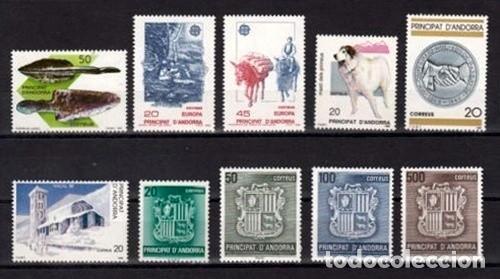ANDORRA ESPAÑOLA 1988 - AÑO COMPLETO (Sellos - España - Dependencias Postales - Andorra Española)