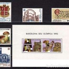 Sellos: ANDORRA ESPAÑOLA 1987 - AÑO COMPLETO. Lote 88568284