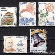 Sellos: ANDORRA ESPAÑOLA 1986 - AÑO COMPLETO. Lote 118793059