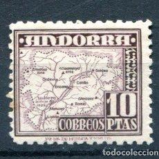 Sellos: ANDORRA. EDIFIL 57. 10 PTS TIPOS DIVERSOS. NUEVO SIN GOMA Y UN PUNTO DE ÓXIDO. Lote 89044558