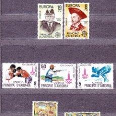 Sellos: ANDORRA ESPAÑOLA (1985)-AÑO COMPLETO. Lote 89642280