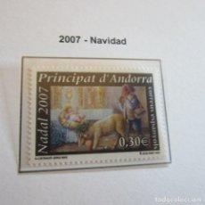 Sellos: ANDORRA ESPAÑOLA 2007,NAVIDAD 2007. Lote 90178016