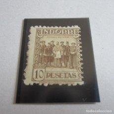 Sellos: ANDORRA 1935-1943, EDIFIL. Nº 42 , TIPOS DIVERSOS SIN CIFRA DE CONTROL. SIN GOMA. Lote 90872045