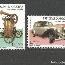 Selos: ANDORRA EDIFIL NUM. 298/299 ** SERIE COMPLETA SIN FIJASELLOS. Lote 93832035