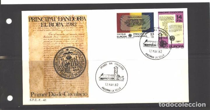 ANDORRA ESPAÑOLA 1982 - SPD NRO. 41- EUROPA - NUEVO (Sellos - España - Dependencias Postales - Andorra Española)