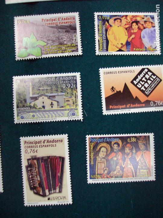 Sellos: ANDORRA ESPAÑOLA 2014 AÑO COMPLETO NUEVO - Foto 2 - 173819672