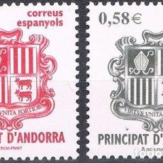 Sellos: [CF6074] ANDORRA 2007, SERIE ESCUDO DE ANDORRA (MNH). Lote 78463137