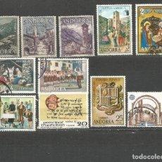 Sellos: ANDORRA CONJUNTO DE SELLOS USADOS. Lote 98397267