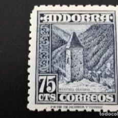 Sellos: ANDORRA , EDIFIL Nº 52 ** CON NUMERACIÓN A.000000 AL DORSO. Lote 104264675