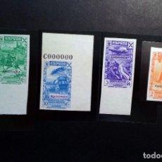 Sellos: ANDORRA ESPAÑOLA .AÑO 1938 BENEFICENCIA (Nº** 2,3,5 Y 6 NUEVOS Y SIN DENTAR).. Lote 104322259