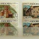 Sellos: ANDORRA ESPAÑOLA EDIFIL 117/18** NUEVOS SIN CHARNELA. BLOQUE DE CUATRO. 1978. EUROPA. Lote 109181691