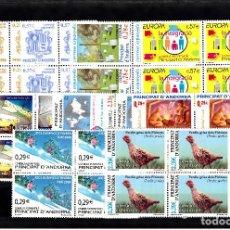 Sellos: AÑO COMPLETO 2006 ANDORRA EN BLOQUE DE CUATRO---NUEVOS--. Lote 110142343