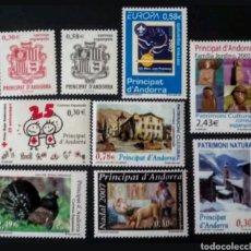 Sellos: AÑO 2007 COMPLETO Y NUEVO DE ANDORRA ESPAÑOLA. Lote 111662410
