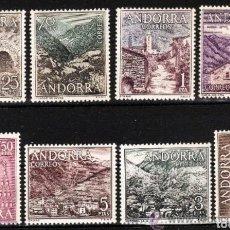 Sellos: AÑOS 1963 Y 1964 COMPLETOS Y NUEVOS DE ANDORRA ESPAÑOLA. Lote 113648967