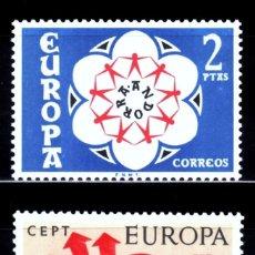 Sellos: ANDORRA ESPAÑOLA EDIFIL 85/86** NUEVOS SIN CHARNELA. AÑO 1973. EUROPA CEPT. Lote 117520891