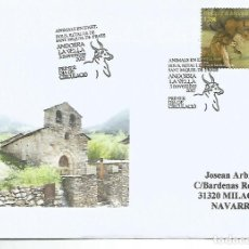 Sellos: ANDORRA SPD FDC ANIMALS EN L´ART BOUS TOROS . Lote 118179327