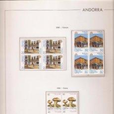 Sellos: ANDORRA ESPAÑOLA AÑO 1990 COMPLETO EN BLOQUE DE 4 NUEVOS LOS DE LAS FOTOS. VER TODOS MIS SELLOS. Lote 236921125