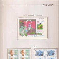 Sellos: ANDORRA ESPAÑOLA AÑO 1994 COMPLETO EN BLOQUE DE 4 NUEVOS LOS DE LAS FOTOS. VER TODOS MIS SELLOS. Lote 120511007
