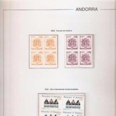 Sellos: ANDORRA ESPAÑOLA AÑO 2002 COMPLETO EN BLOQUE DE 4 NUEVOS LOS DE LAS FOTOS. VER TODOS MIS SELLOS. Lote 164519540