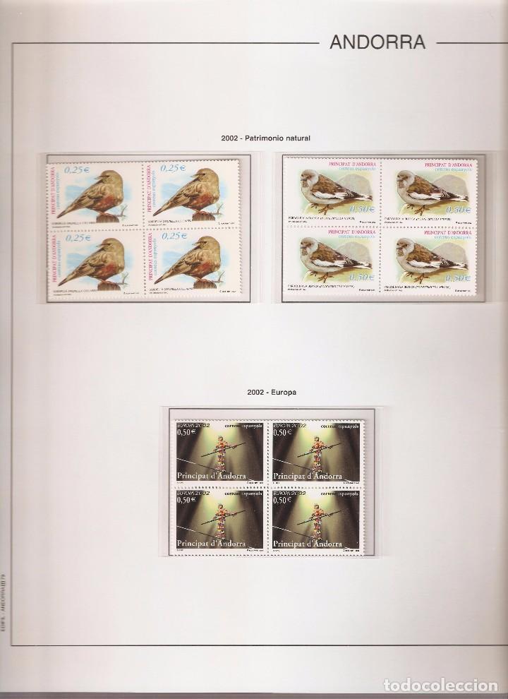 Sellos: ANDORRA ESPAÑOLA AÑO 2002 COMPLETO EN BLOQUE DE 4 NUEVOS LOS DE LAS FOTOS. VER TODOS MIS SELLOS - Foto 2 - 164519540