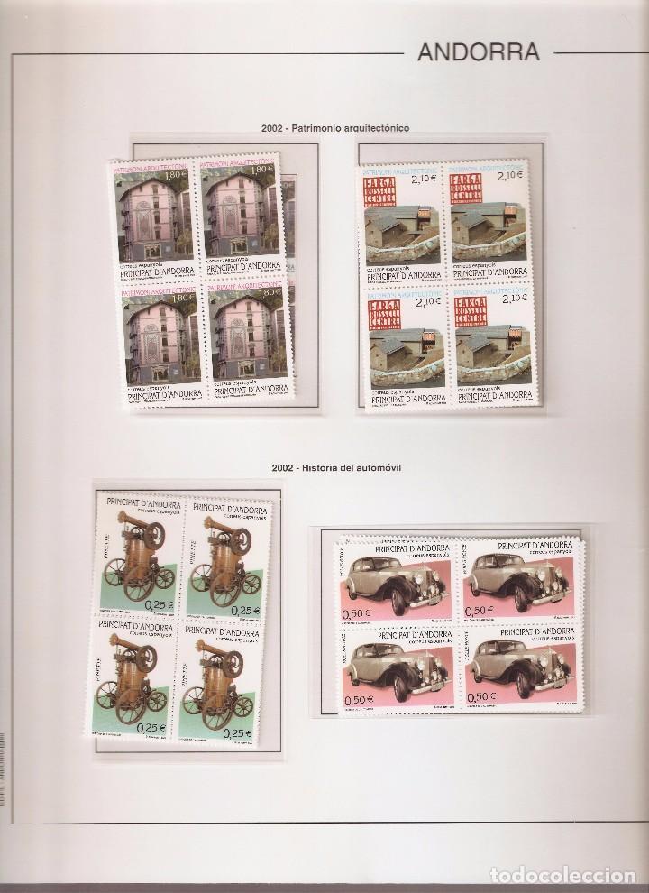 Sellos: ANDORRA ESPAÑOLA AÑO 2002 COMPLETO EN BLOQUE DE 4 NUEVOS LOS DE LAS FOTOS. VER TODOS MIS SELLOS - Foto 3 - 164519540