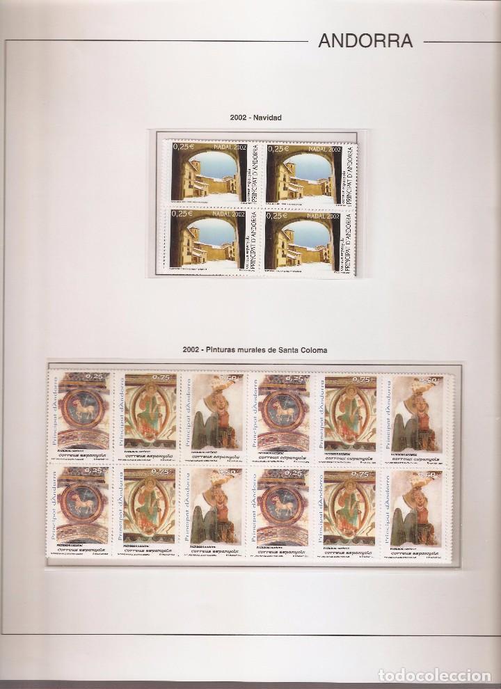 Sellos: ANDORRA ESPAÑOLA AÑO 2002 COMPLETO EN BLOQUE DE 4 NUEVOS LOS DE LAS FOTOS. VER TODOS MIS SELLOS - Foto 4 - 164519540