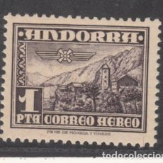Sellos: .ANDORRA ESPAÑOLA .59 SIN CHARNELA, PAISAJE, RELIGION, IGLESIA DE ANDORRA LA VIEJA, . Lote 120819475