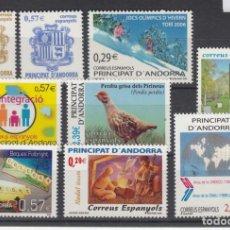 Sellos: .ANDORRA ESPAÑOLA 334/42 SIN CHARNELA, AÑO 2006 COMPLETO 9 SELLOS. Lote 120845219