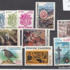 Sellos: .ANDORRA ESPAÑOLA 324/33 SIN CHARNELA, AÑO 2005 COMPLETO 10 X 4 SELLOS. Lote 121288095