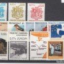Sellos: .ANDORRA ESPAÑOLA 312/23 SIN CHARNELA, AÑO 2004 COMPLETO 12 SELLOS. Lote 121288567