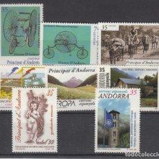 Sellos: .ANDORRA ESPAÑOLA 268/75 SIN CHARNELA, AÑO 1999 COMPLETO 8 SELLOS. Lote 121289495