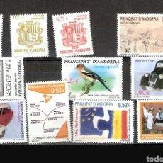 Sellos: ANDORRA ESPAÑOLA:AÑO 2004 COMPLETO Y NUEVO. Lote 125049404