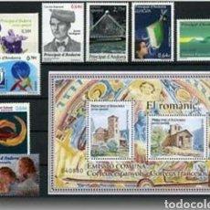 Sellos: ANDORRA ESPAÑOLA :AÑO 2010 COMPLETO Y NUEVO. Lote 125051103