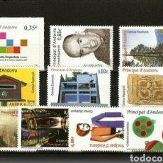 Sellos: ANDORRA ESPAÑOLA :AÑO 2011 COMPLETO Y NUEVO. Lote 125051630