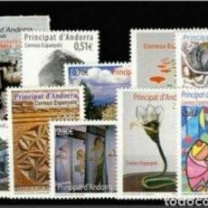 Sellos: ANDORRA ESPAÑOLA :AÑO 2012 COMPLETO Y NUEVO. Lote 125052132