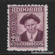 Sellos: ANDORRA ESPAÑOLA. EDIFIL Nº 48 NUEVO. Lote 129327899