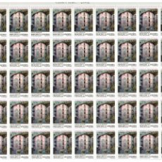 Sellos: PLIEGO COMPLETO SERIE PATRIMONIO ARQUITECTONICO ANDORRA AÑO 2002. Lote 134827938