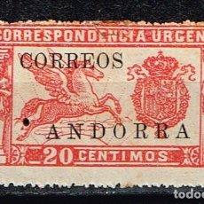 Sellos: ANDORRA 1928 - NÚMERO 14. Lote 136422174