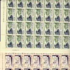 Sellos: ANDORRA - 2 PLIEGOS DE 80 SELLOS EUROPA 1979 NUMS .125-126. Lote 143056446
