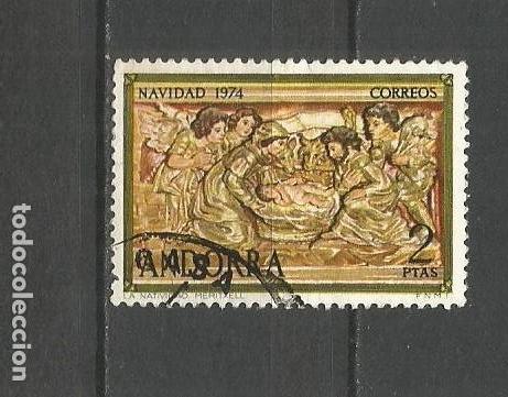 ANDORRA EDIFIL NUM. 94 USADO (Sellos - España - Dependencias Postales - Andorra Española)