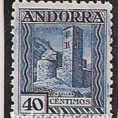 Sellos: ED. 37. 40 CTS AZUL. ANDORRA. FOTOGRAMA TAMAÑO REAL DEL SELLO. PARA COMPLETAR EN ÁLBUM. Lote 147933294