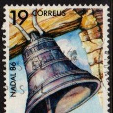 Sellos: ANDORRA 194 - AÑO 1986 - NAVIDAD - CAMPANA DE SANT ROMA. Lote 148837294