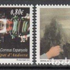 Sellos: ANDORRA ESPAÑOLA CORREO 2011 EDIFIL 386/7 ** MNH - ANDORRA ESPAÑOLA CORREO 2011 EDIFIL 386/7 ** MNH. Lote 150770180