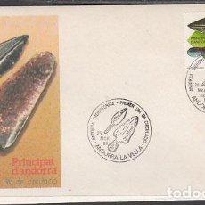 Sellos: ANDORRA ESPAÑOLA SOBRES 1º DÍA 1988 EDIFIL 203 - ANDORRA ESPAÑOLA SOBRES 1º DÍA 1988 EDIFIL 203. Lote 150771200