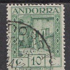 Selos: ANDORRA ESPAÑOLA SUELTOS 1929 EDIFIL 17 O - ANDORRA ESPAÑOLA SUELTOS 1929 EDIFIL 17 O. Lote 150772184
