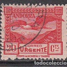 Selos: ANDORRA ESPAÑOLA SUELTOS 1929 EDIFIL 27 O - ANDORRA ESPAÑOLA SUELTOS 1929 EDIFIL 27 O. Lote 150772216